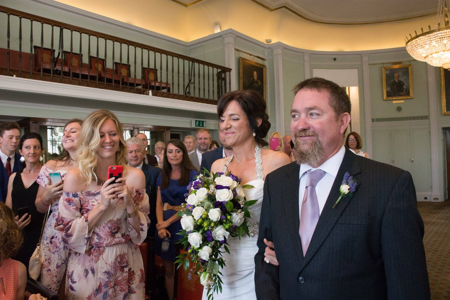 julie and george down the aisle.jpg