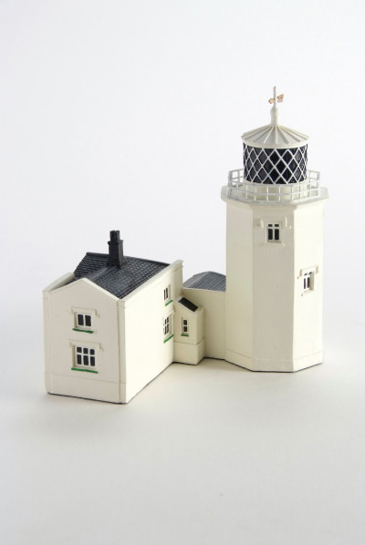 Lizard Lighthouse Model Lovingly Produced From A Special Resin Giving The Feel And Appearance Of Real Building Materials